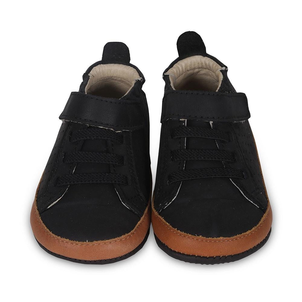 Old Soles Australia Cheer Bambini Distressd Black/Tan