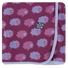 KicKee Pants Swaddling Blanket - Grapevine Sheep