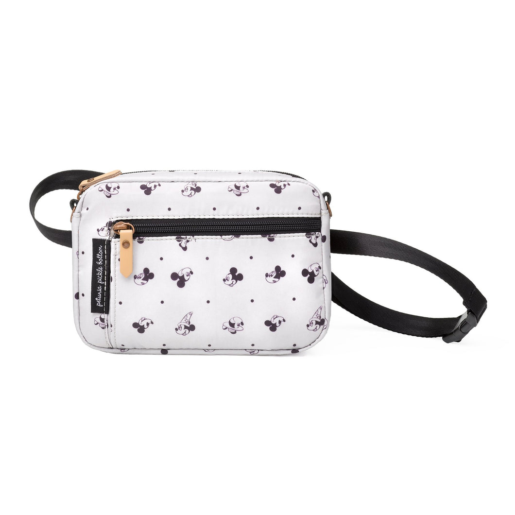 PETUNIA PICKLE BOTTOM ADVENTURER BELT BAG IN MICKEY MOUSE