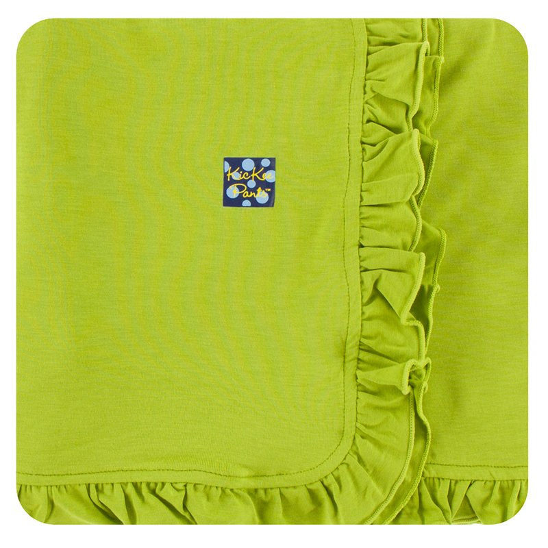 KICKEE PANTS RUFFLE MEADOW STROLLER BLANKET