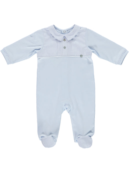 Purete Du Bebe Blue Footie - Indispensables