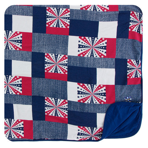 KicKee Pants Print Toddler Blanket - Patchwork