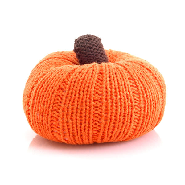 Pebble - Rattle - Pumpkin