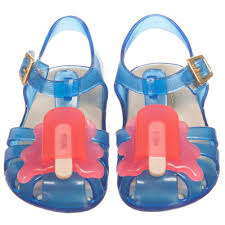 Mini Melissa Aranha Popsicle - Blue & Pink (SALE)