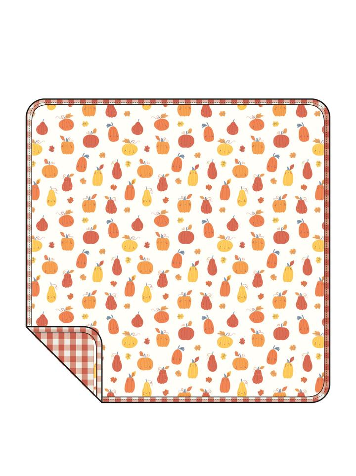 ANGEL DEAR PUMPKIN PATCH 3 PLY QUILT