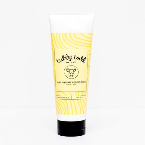 Tubby Todd Natural Hair Conditioner Yummy Lemon