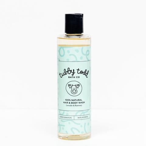 Tubby Todd Lavendar and Rosemary Hair & Body Wash