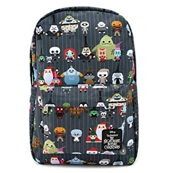 Loungefly Nylon Backpack - The Nightmare Before Christmas