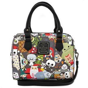 Loungefly Mini Duffle - The Nightmare Before Christmas