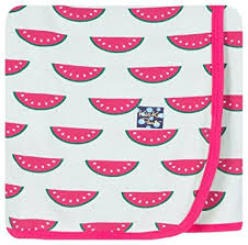 KicKee Pants Swadding Blanket - Watermelon
