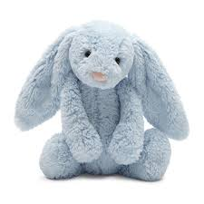 Jellycat Plush - Bashful Blue Chime Bunny