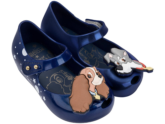 Mini Melissa Ultragirl Lady and the Tramp in Blue Pearl