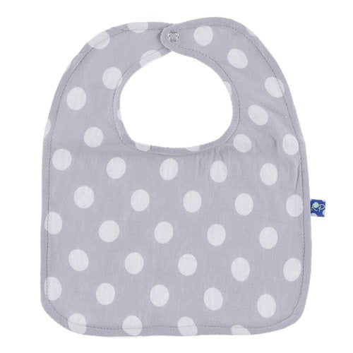 Kickee Pants Feather Natural Dot Bib New