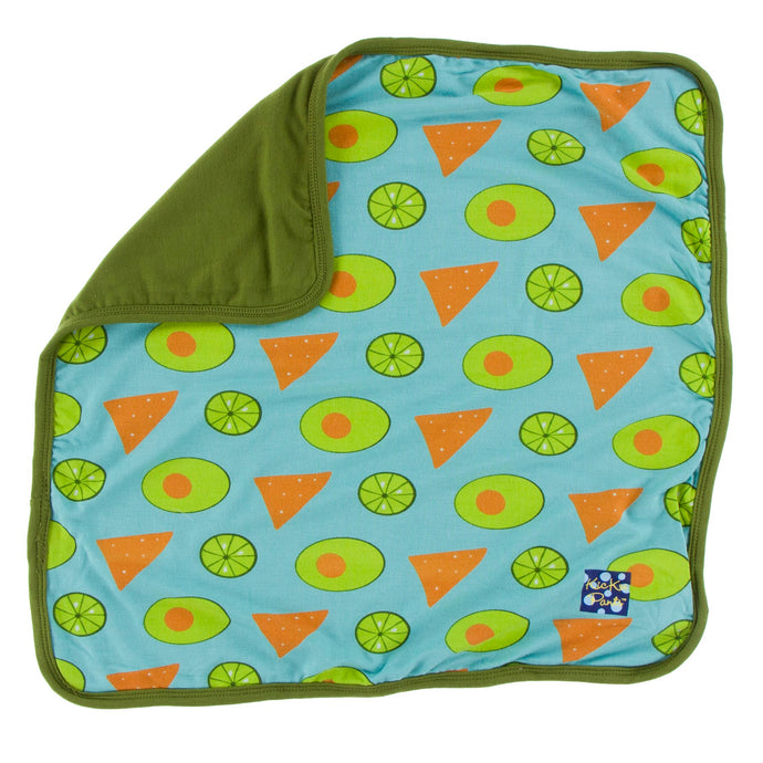 KicKee Pants Print Lovey - Avocado, Chips & Lime
