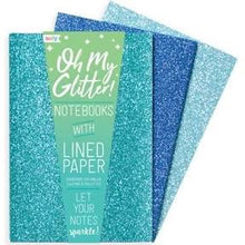 Ooly Oh my glitter! 3 Pc Notebooks