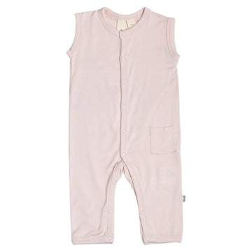 KYTE SLEEVELESS ROMPER IN BLUSH