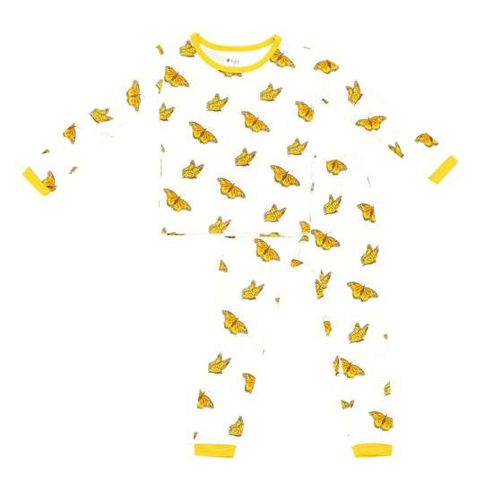 KYTE TODDLER PAJAMA SET IN MONARCH 4T