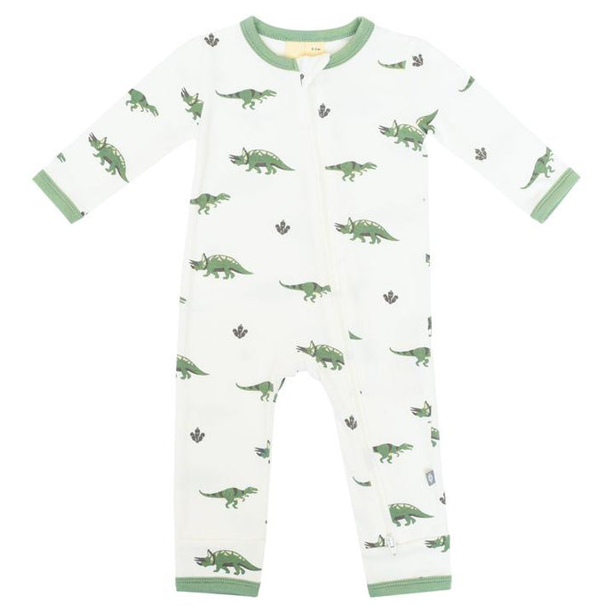 Kyte Zippered Romper in Dino - Dino