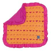 Kickee Pants Print Lovey Apricot Chicken