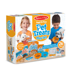 Melissa and Doug - Feed and Play Pet Treats Play Set
