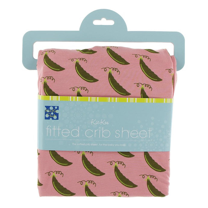 Kickee Pants Strawberry Sweet Pea Sheets