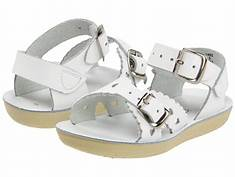 Sun San Saltwater Sandals Sweetheart White (1403)