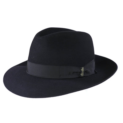 Astuccio 234 - Black, product_type] - Borsalino for Atica fedora hat