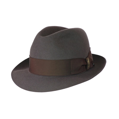 Claudio 178 - Light Brown, product_type] - Borsalino for Atica fedora hat