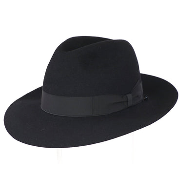Andelli 234 - Black, product_type] - Borsalino for Atica fedora hat