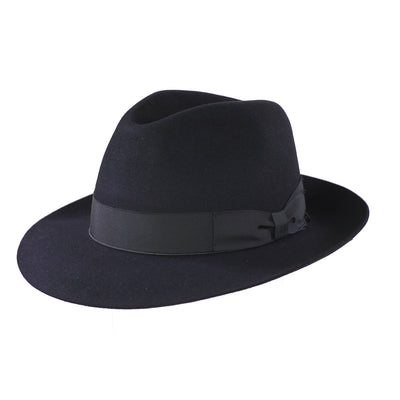 Trionfo 212 - Navy, product_type] - Borsalino for Atica fedora hat
