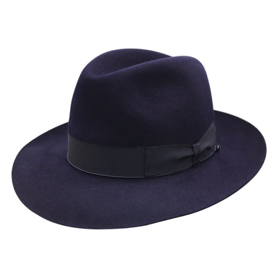 Andelli 234 - Navy, product_type] - Borsalino for Atica fedora hat