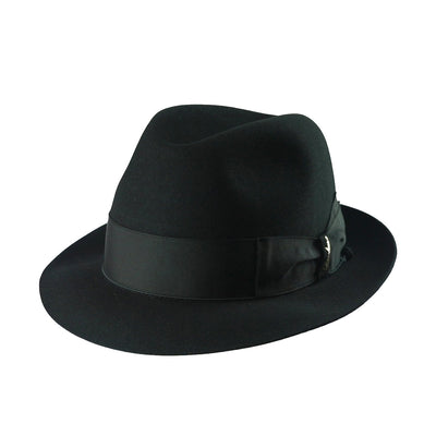 Claudio 178 - Black, product_type] - Borsalino for Atica fedora hat