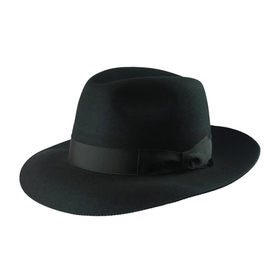 Armando 278 - Black, product_type] - Borsalino for Atica fedora hat