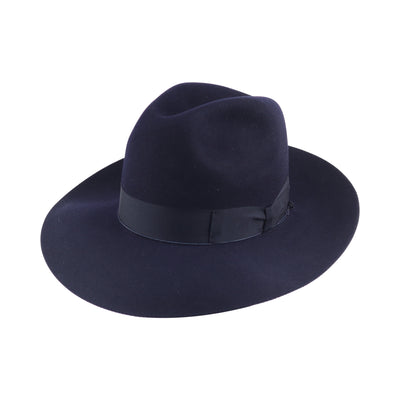 Mattoni 314 - Navy, product_type] - Borsalino for Atica fedora hat