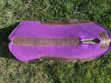Backroad Trading Company Purple 32x32 Wool Work Pad