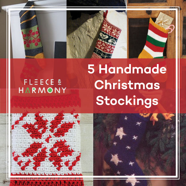 5 *FREE* Handmade Christmas Stocking Patterns
