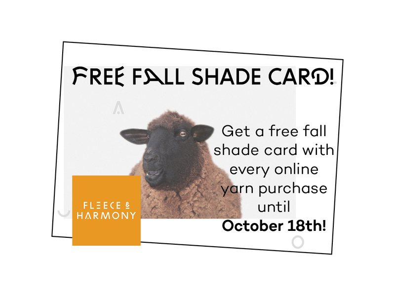 Free Fall Shade Card
