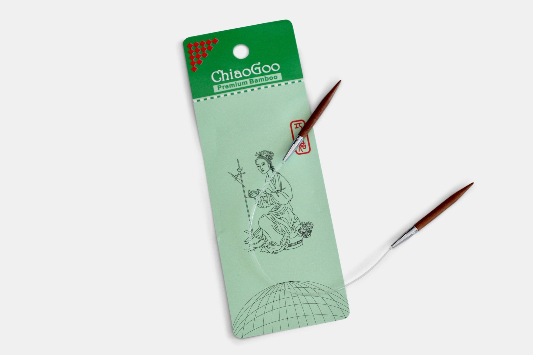 ChiaoGoo Short Cable Needles-16""