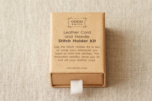 Cocoknits Leather Stitch Holder