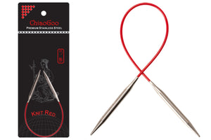 ChiaoGoo SS Red Circular Needles-9