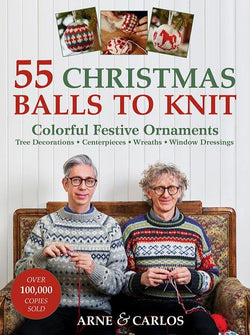 55 Christmas Balls to Knit