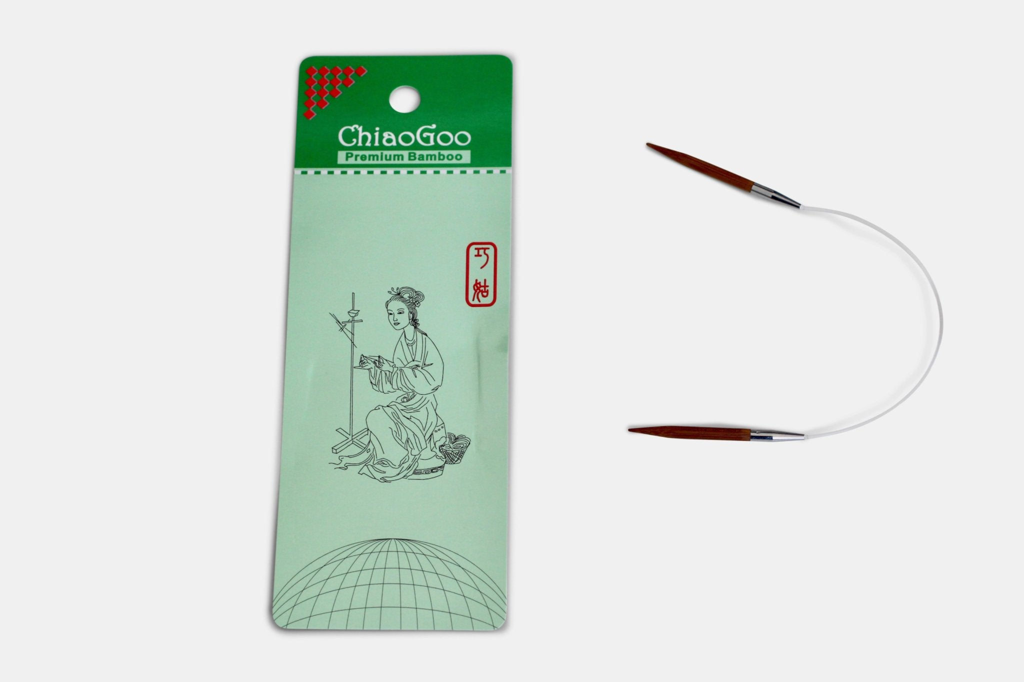 ChiaoGoo Short Cable Needles - 9 inch