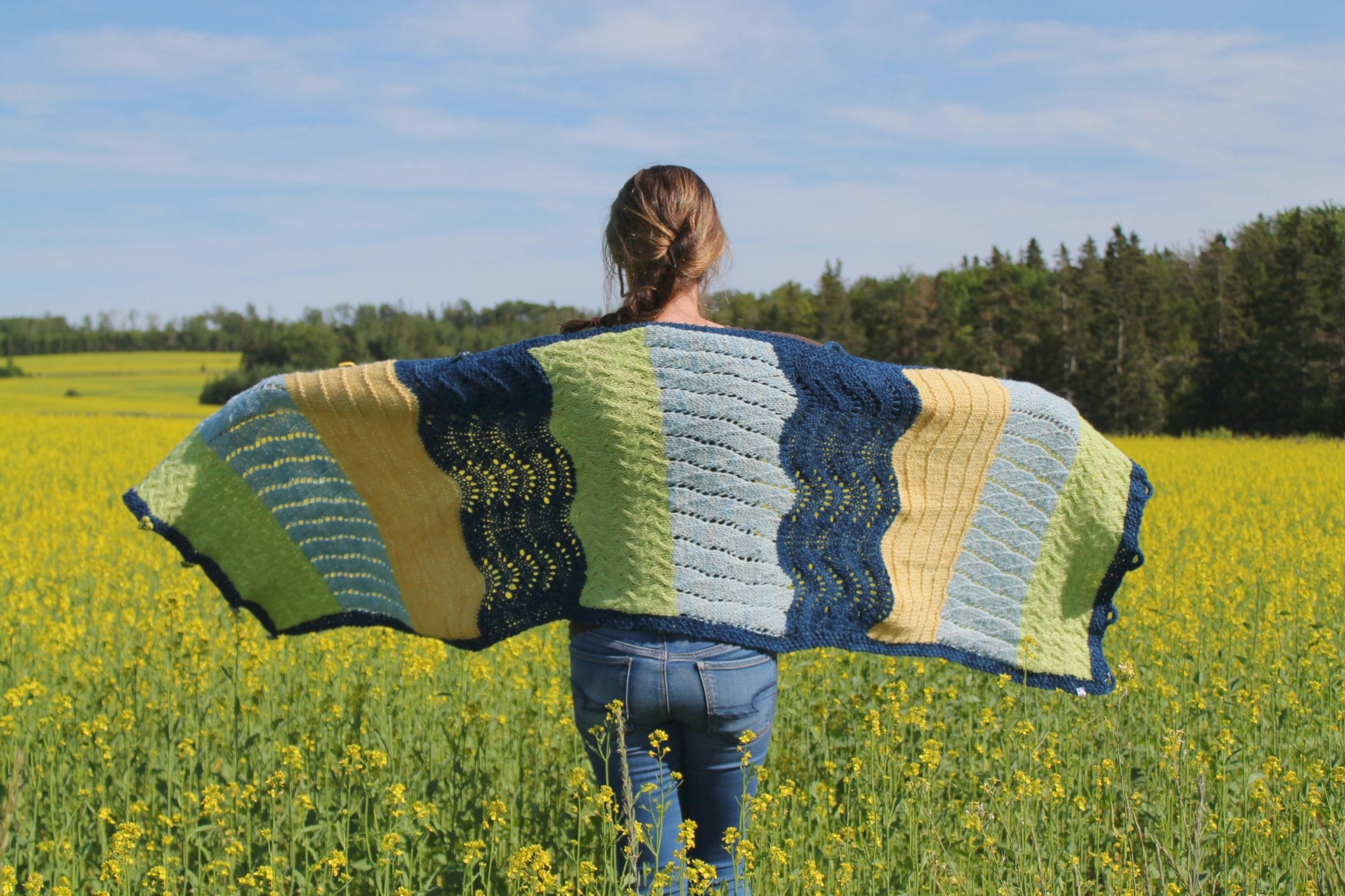 Beach Day Shawl Kit