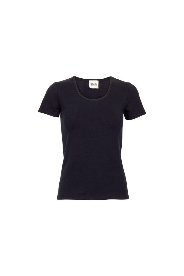 Rib Tee black - Less Vegas