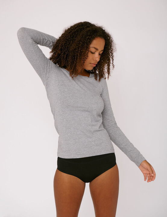 Organic cotton Long-sleeve tee - Less Vegas
