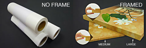 Framed vs No Frame