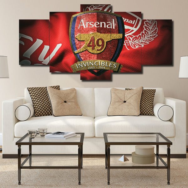 Canvas Wall Art -  Arsenal The Invincibles