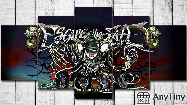 Canvas Wall Art -  Escape The Fate