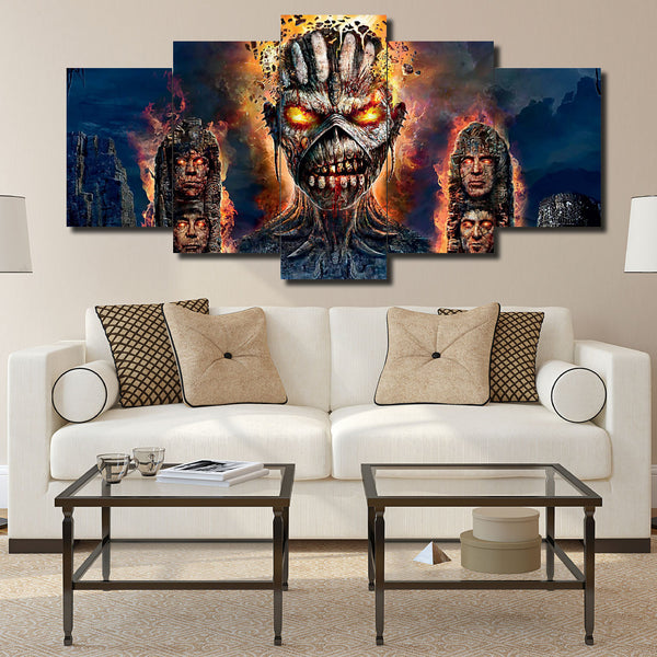 Canvas Wall Art -  Iron Maiden