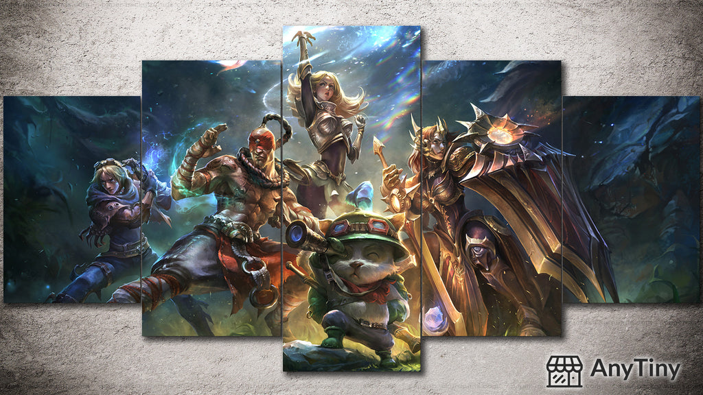 Canvas Wall Art -  League of Legends